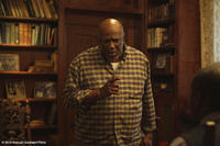Louis Gossett Jr. as George Wright in ``The Grace Card.''