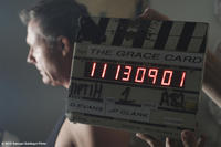 Michael Joiner on the set of ``The Grace Card.''