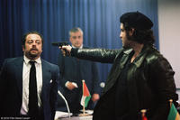 Badih Abou as Cheikh Ahmed Chakra Zaki Yamani and Edgar Ramirez as Carlos the Jackal in
