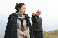 Hao Lei and Aaron Kwok  in ``Empire of Silver.''