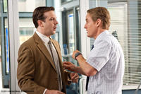 Jason Sudeikis as Fred and Owen Wilson as Rick in ``Hall Pass.''