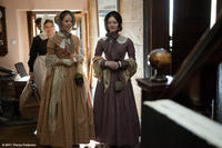 Tamzin Merchant as Mary Rivers and Holliday Grainger as Diana Rivers in ``Jane Eyre.''