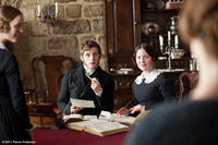 Jamie Bell as St. John and Holliday Grainger as Diana Rivers in ``Jane Eyre.''
