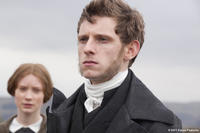 Mia Wasikowska as Jane Eyre and Jamie Bell as St. John in ``Jane Eyre.''