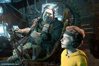 Gribble and Milo in ``Mars Needs Moms.''