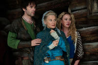 Billy Burke as Cesaire, Julie Christie as Grandmother and Virginia Madsen as Suzette in ``Red Riding Hood.''