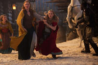 Shauna Kain as Roxanne and Amanda Seyfried as Valerie in ``Red Riding Hood.''