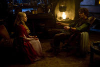 Amanda Seyfried as Valerie and Billy Burke as Cesaire in ``Red Riding Hood.''