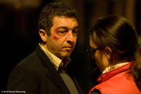 Ricardo Darin as Sosa and Martina Gusman as Lujan in ``Carancho.''