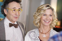 Marc Jordan as Edgar Gordan and Olivia Newton as Hope Gordan in ``Score: A Hockey Musical''