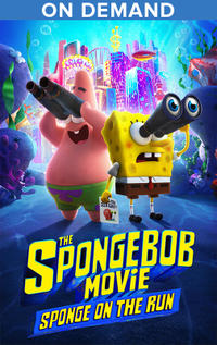 The SpongeBob Movie: Sponge On The Run poster