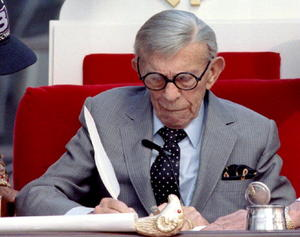 George Burns as Dr. Burns