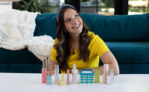 Family Movie Night: Turn Wooden Blocks into City Blocks Inspired By Your Favorite Places