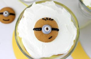 The Eyes Have it: Minions Banana Pudding