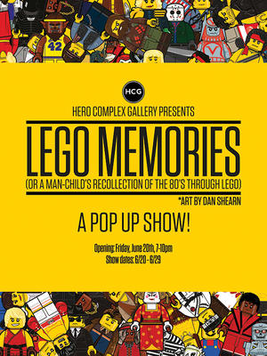 Iconic Movies Meet Legos in--Awesome, OK We Said It--New Art Show
