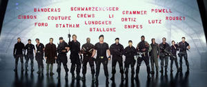 The Cast Assembles for 'The Expendables 3' Teaser Trailer