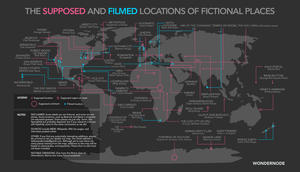 From Hogwarts to Gotham, Here's a Map of Your Favorite Movie Locations