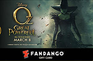 Fandango Gift Card Giveaway: Who Do You Want to Watch in 'Oz'?