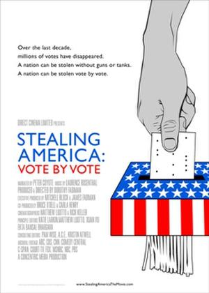 Stealing America: Vote by Vote poster