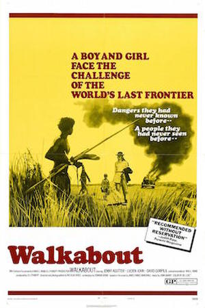 Walkabout (1971) poster