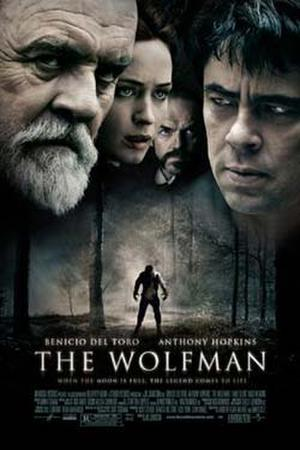 The Wolfman poster