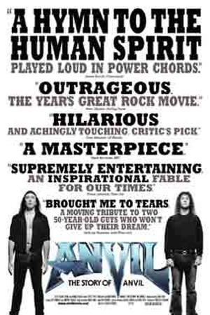 Anvil! The Story of Anvil poster