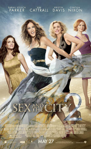 Sex and the City 2 poster