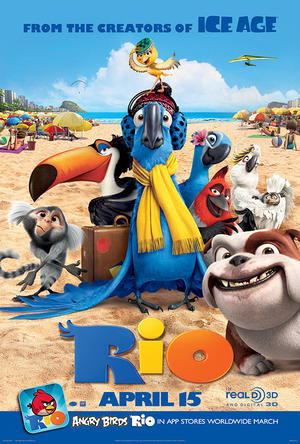 Rio The Movie poster