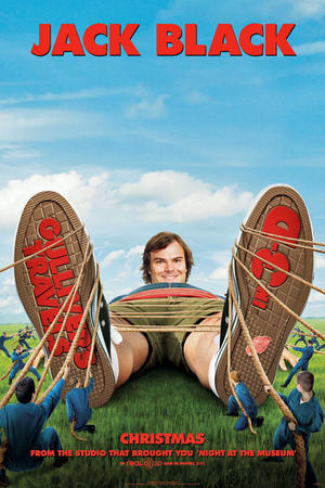 Gulliver's Travels 3D poster