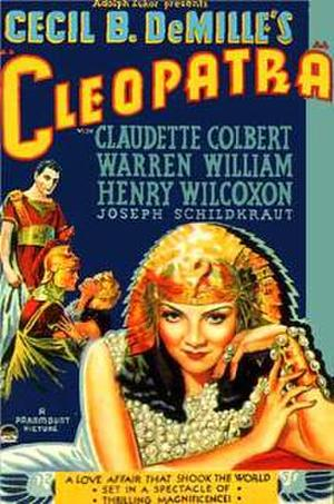 Cleopatra (1934) poster
