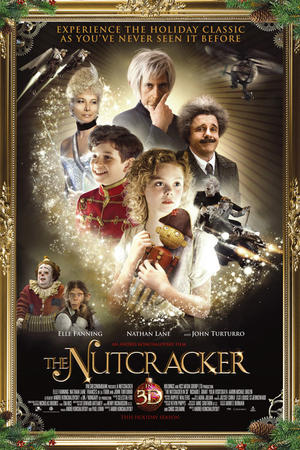The Nutcracker 3D poster