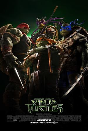 Teenage Mutant Ninja Turtles (2014) poster