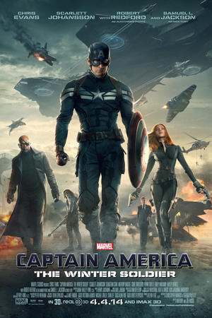 Marvel's Captain America: The Winter Soldier (2014) poster