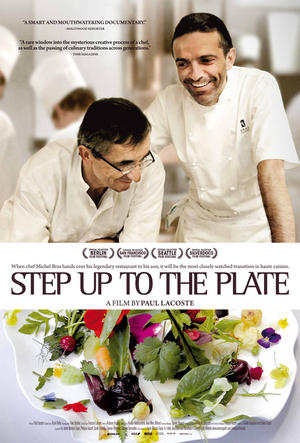 Step Up to the Plate poster