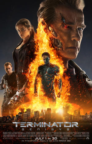Terminator Genisys poster