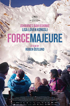 Force Majeure (Turist) poster