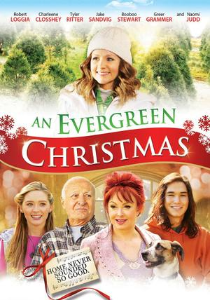 An Evergreen Christmas poster