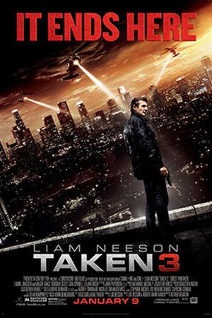 Taken 3 poster