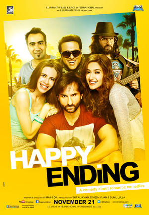 Happy Ending (2014) poster