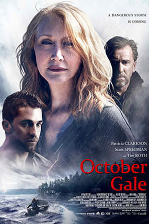 October Gale poster