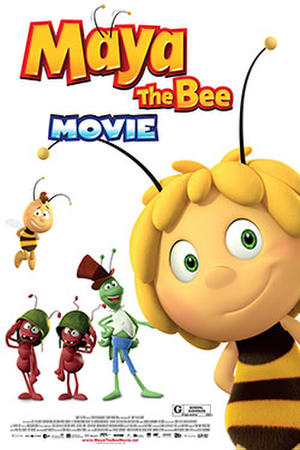Maya the Bee Movie (2015) poster