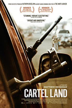 Cartel Land poster