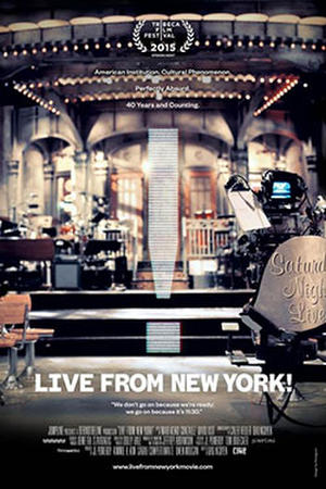 Live From New York! poster