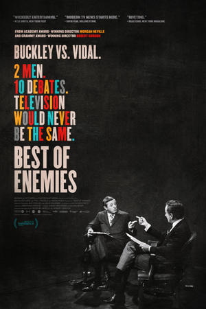 Best of Enemies (2015) poster