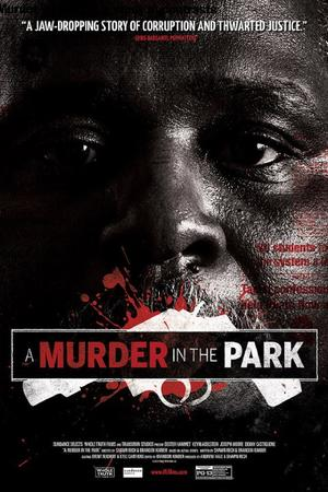A Murder In The Park poster
