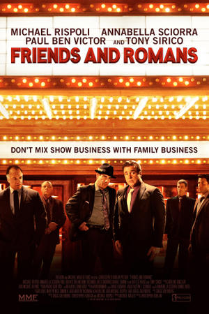 Friends and Romans poster