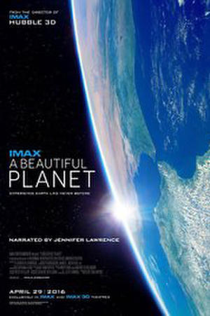 A Beautiful Planet IMAX poster