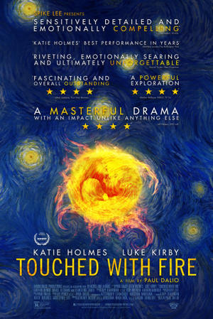 Touched With Fire poster