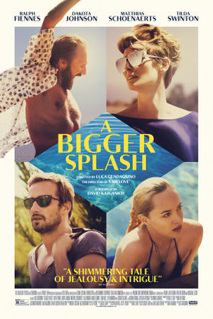 A Bigger Splash (2016) poster