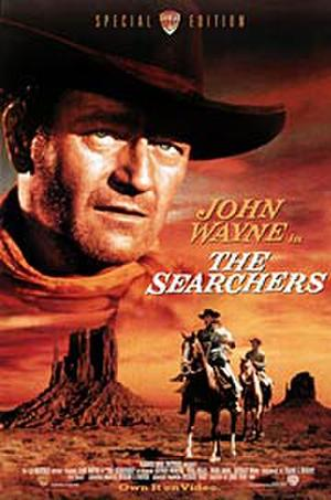The Searchers (1956) poster